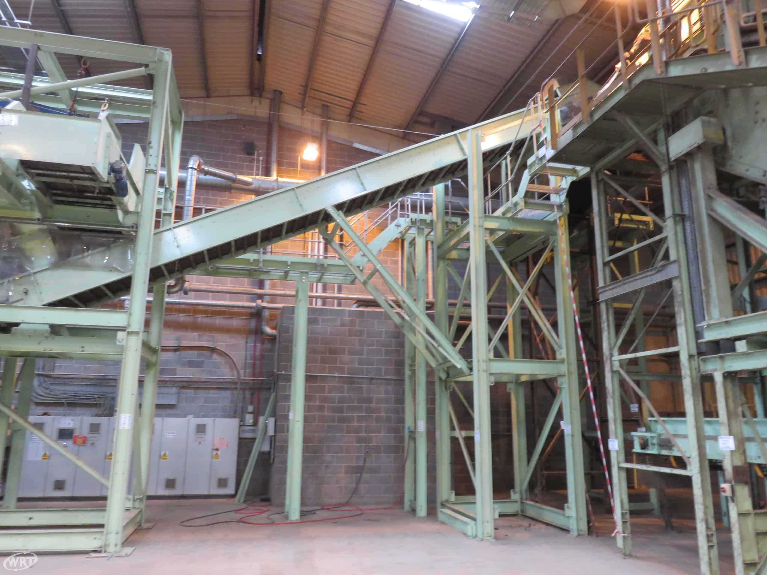Waste Conveyor 1 m Wide x 12.25 Long