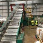 MACPRESSE 110/1 Channel Press Baler & Feed Conveyor