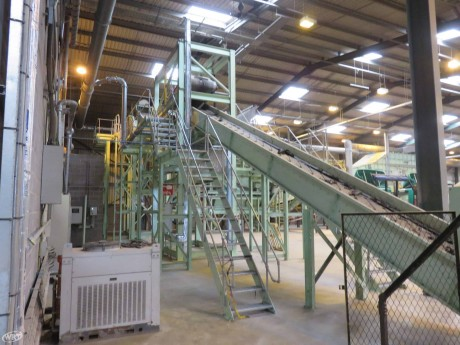 Waste Conveyor 1 m Wide x 13.25 m Long