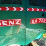 JENZ BA 725 E Stationary Shredder