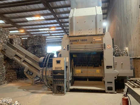 Lindner Komet 1800 Shredder