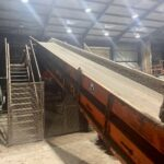 Hammel Conveyor 6.5 m long x 1300 mm wide