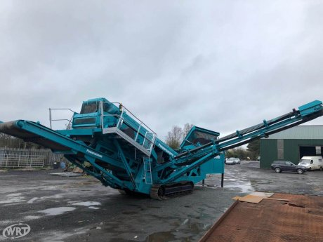 Powerscreen Chieftain 1400 Tracked Screen