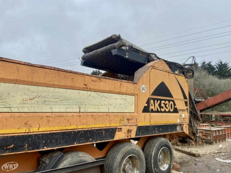 Doppstadt AK530 Profi High Speed Shredder