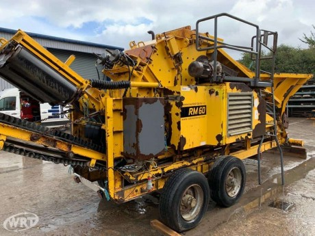 Rubble Master RM60 Semi Mobile Impact Crusher