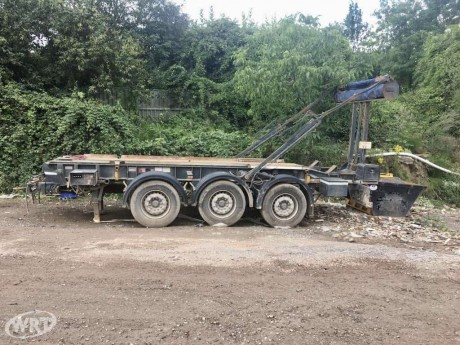 Cargotec 3 Axle Draw Bar Trailer
