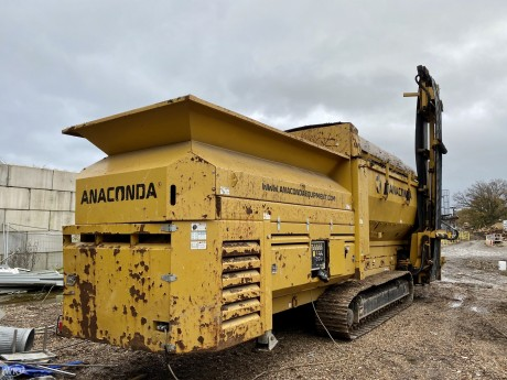 Anaconda TD 620 Tracked Trommel Screen