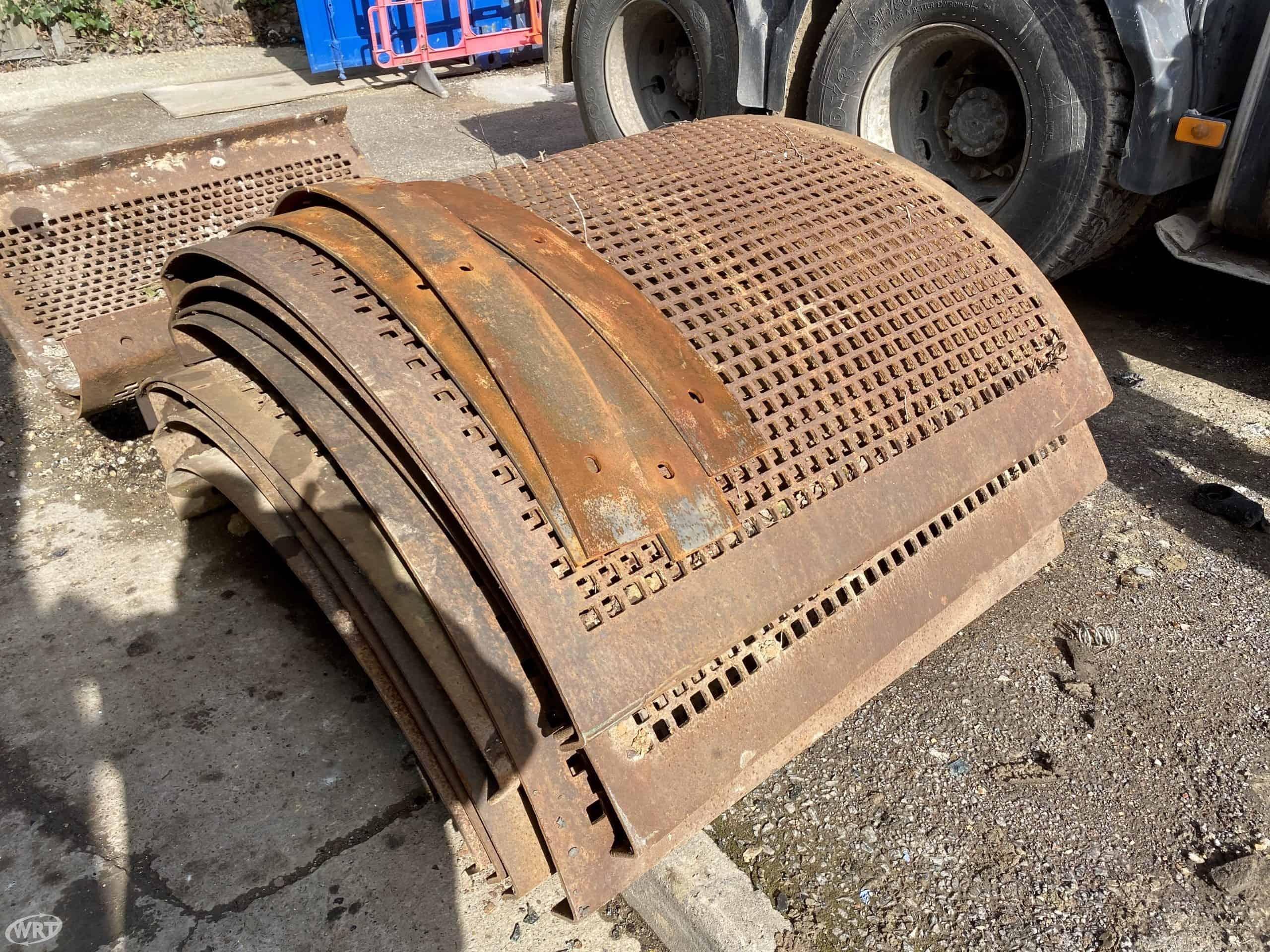 LJH/DUO TROMMEL SCREEN PLATE DECKS 25 mm