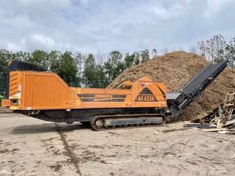 Doppstadt AK635 K Eco Power Tracked High Speed Shredder