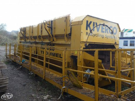 Kiverco KL625 Static Trommel Screen