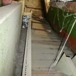 Techgene TB1011 H5 BH Channel Baling Press with Feed Conveyor