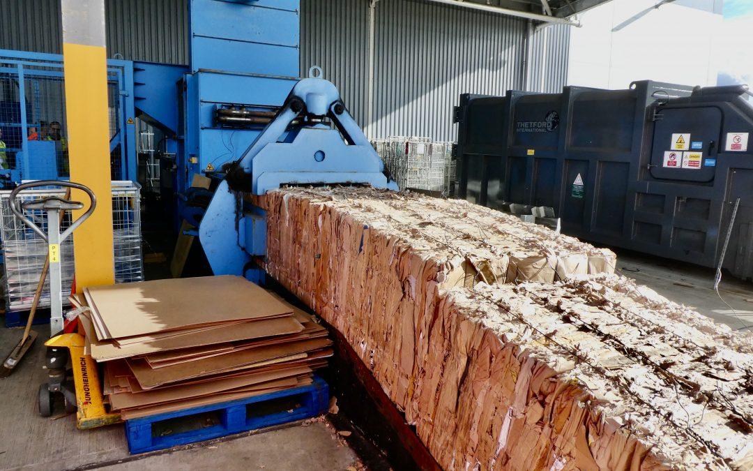 How Does A Cardboard Baler Work?