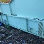 Waste Conveyor 1 m Wide x 3.25 m Long