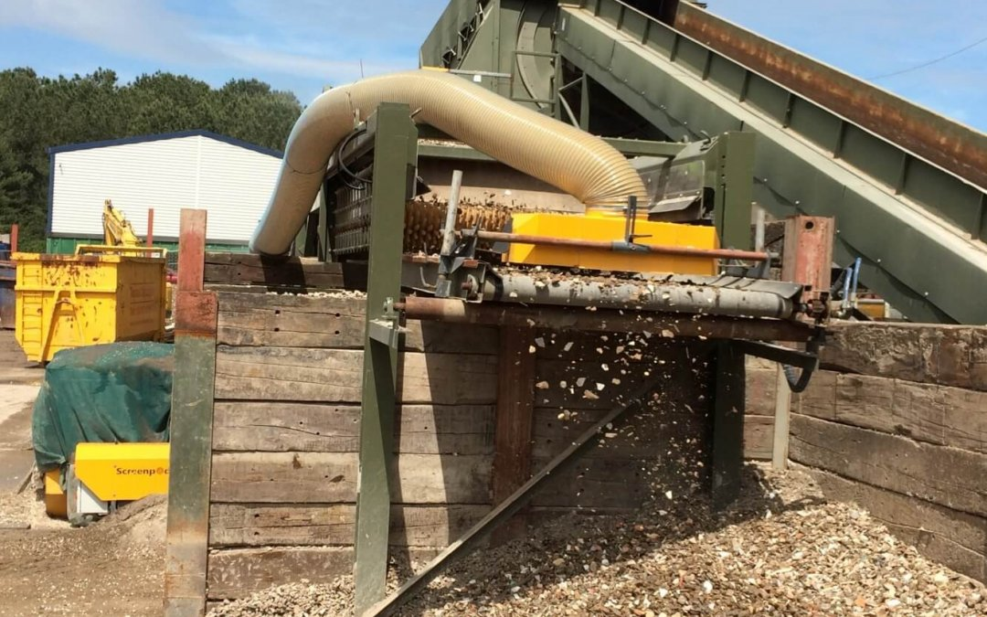 Trommel Fines Clean Up System