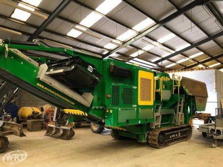 McCloskey J40V2 Mobile Jaw Crusher