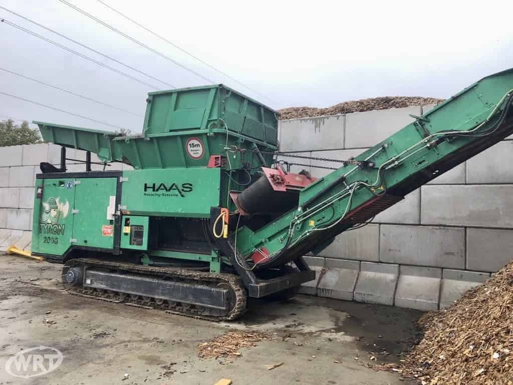 HAAS Tyron 2000 Tracked Double Shaft Primary Shredder