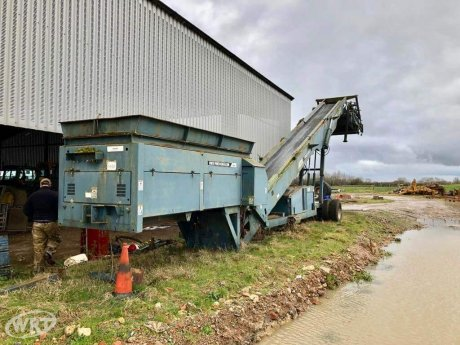 Powerscreen Commander 510 Mobile Screening Plant