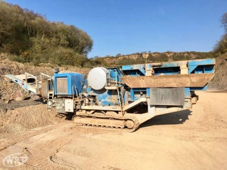 Sandvik Primary Jaw Crusher CM 1208 11