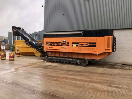 Doppstadt DW3060K Slow Speed Shredder C/W HS800 Star Screen