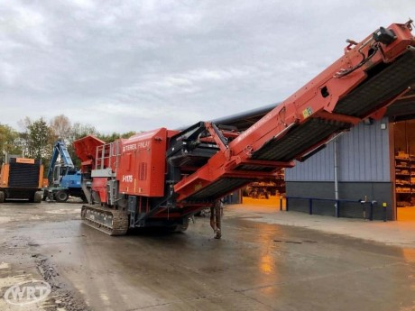 Terex Finlay J-1175 Tracked Jaw Crusher