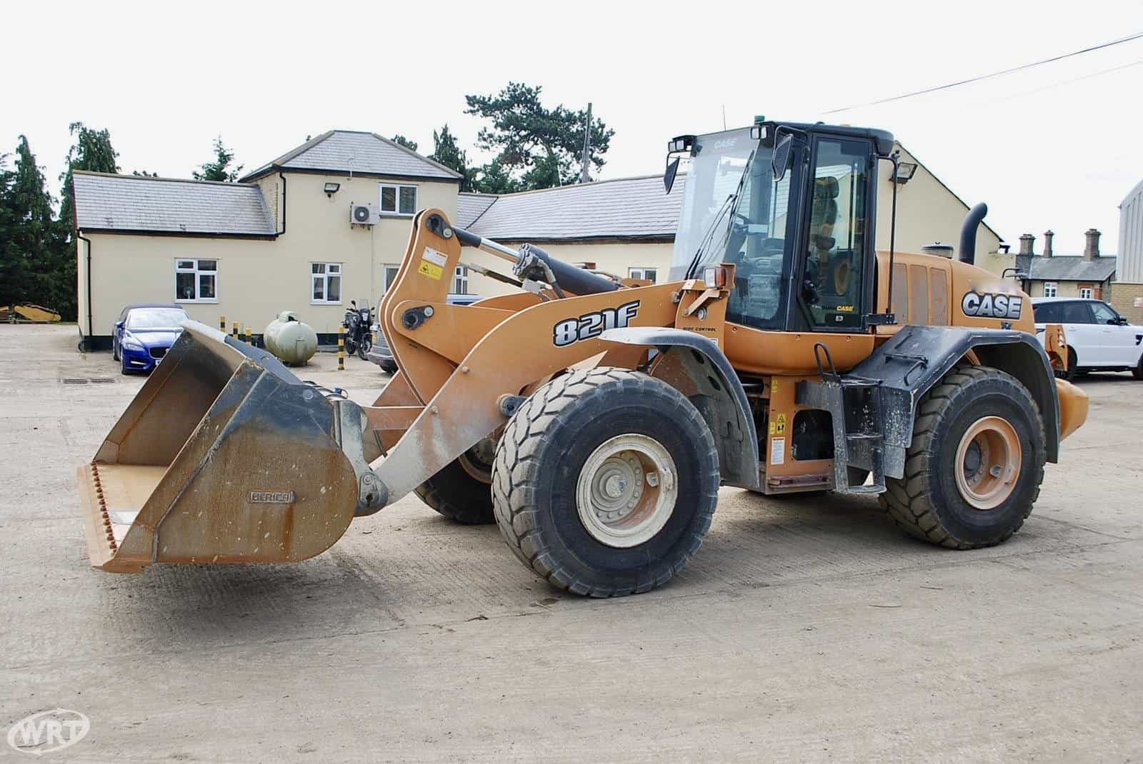 CASE 821F Wheeled Loader