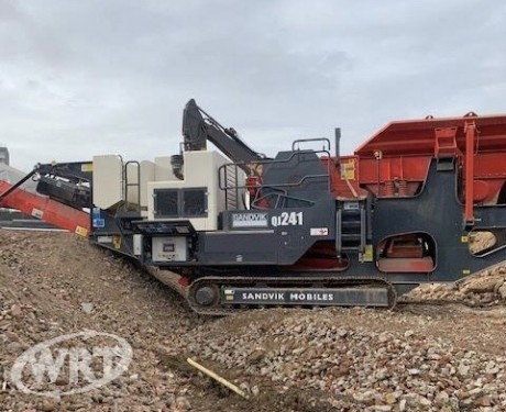 Sandvik QJ241 Mobile Jaw Crusher