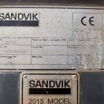 Sandvik QJ341 Tracked Jaw Crusher