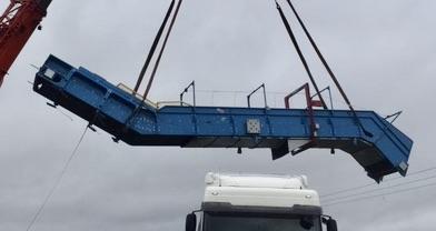 PAAL Baler Feed Conveyor KEM-1400