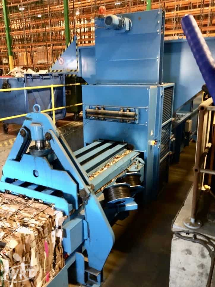 PAAL Pacomat V-50 C BH Channel Baling Press